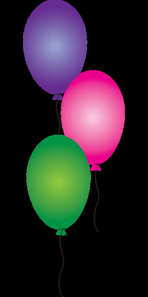 balloons celebrate birthday