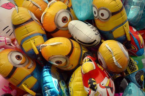 balloons helium air