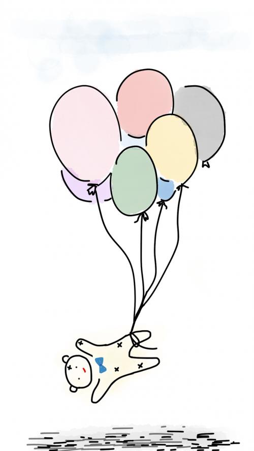 balloons teddy teddy bear