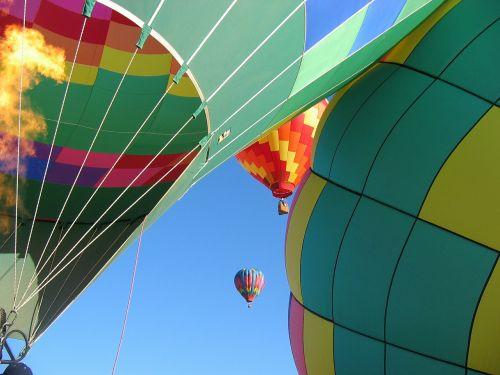 balloons hot air balloons flying