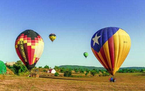 balloons  hot air  flyers
