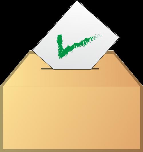 ballot vote yes