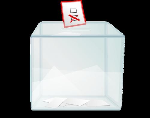 ballot box box poll
