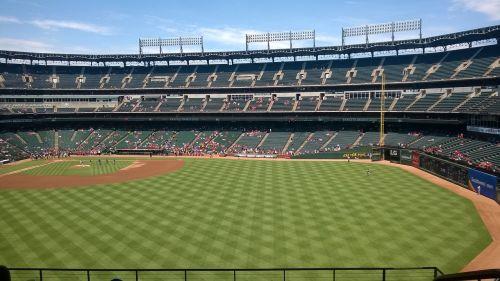 ballpark baseball field
