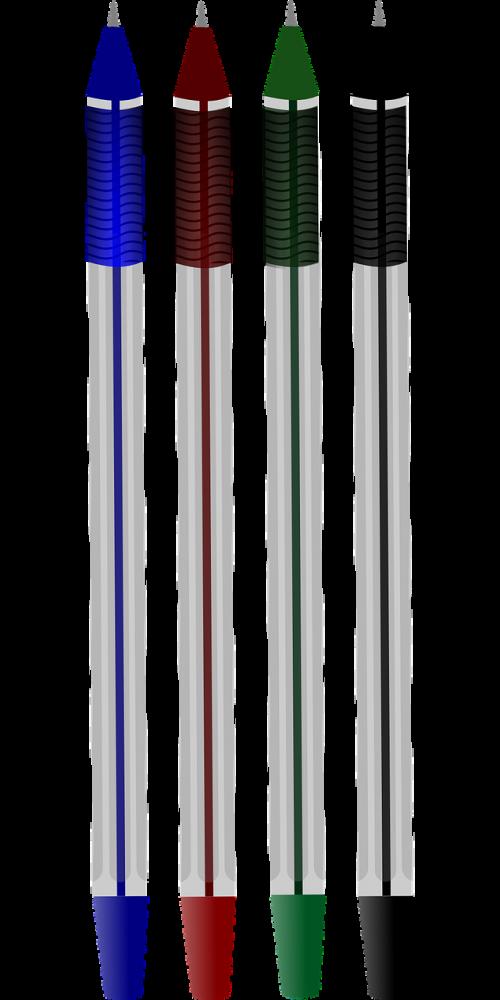ballpoint colors pen