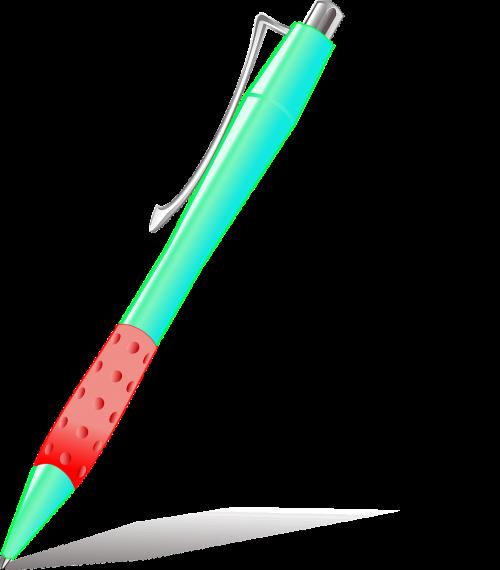 ballpoint pen writing