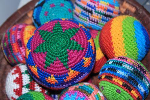 balls colourful bright
