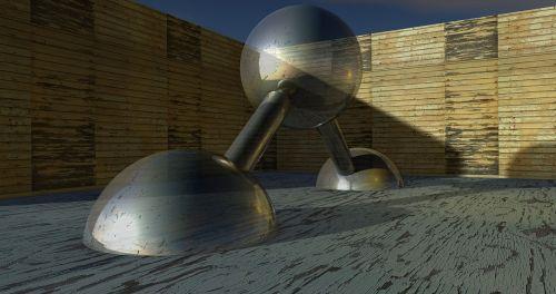 balls model glass