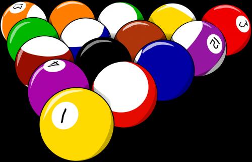 balls pool billiards