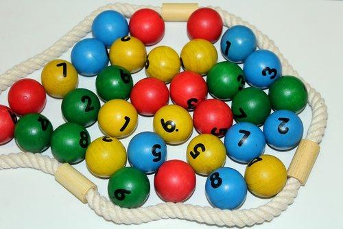 balls  wooden  education