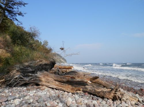 baltic sea cliff view
