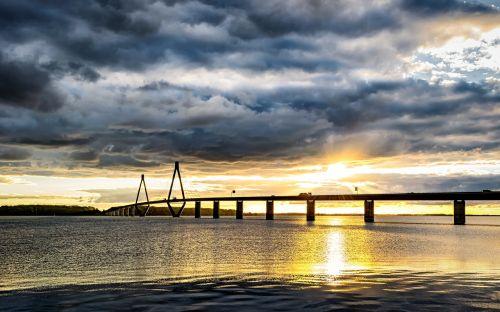 baltic sea bridge denmark