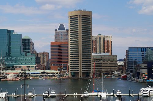 baltimore,uostas,miestas,Maryland,centro,miesto,pastatas
