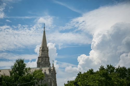 baltimore,bokštas,bažnyčia