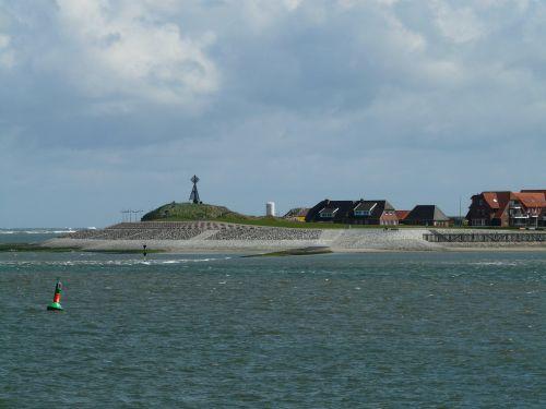 baltrum north sea port