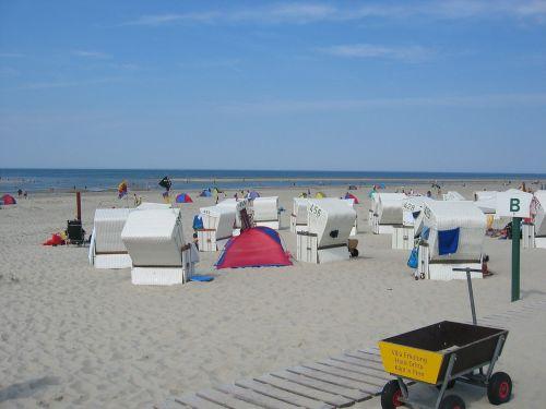 baltrum north sea beach