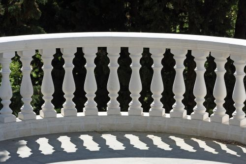 balustrade park symmetry