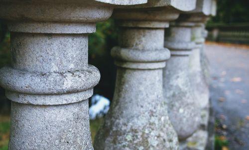 balustrade stone balcony