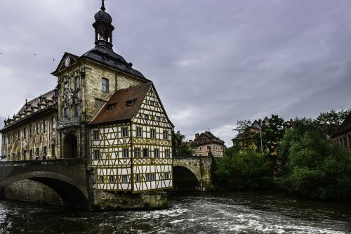 bamberg old town hall building