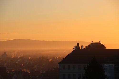 bamberg sunrise morgenstimmung
