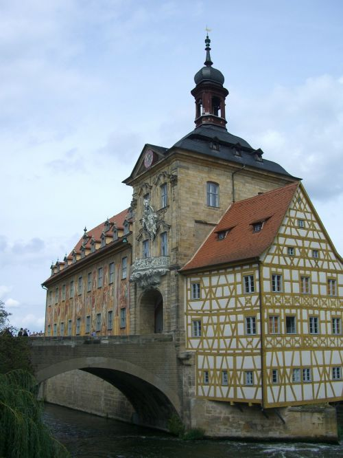 bamberg town hall bridge