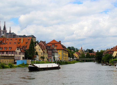 bamberg  river  regnitz