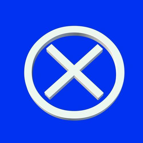 ban cross mark