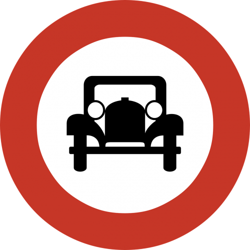 ban banned motor vehicles