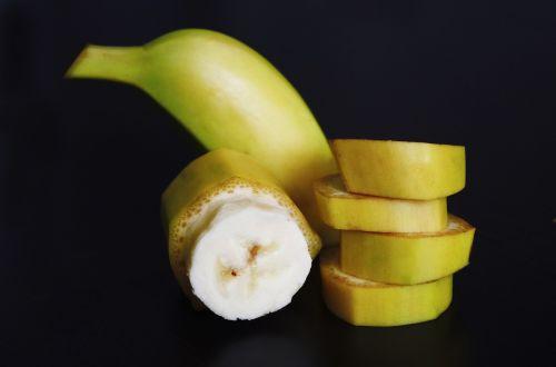 banana sliced pieces
