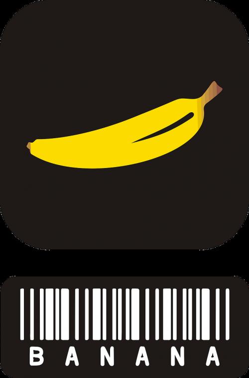 banana fruits yellow