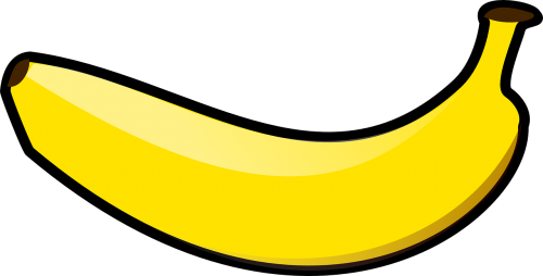banana fruit yellow