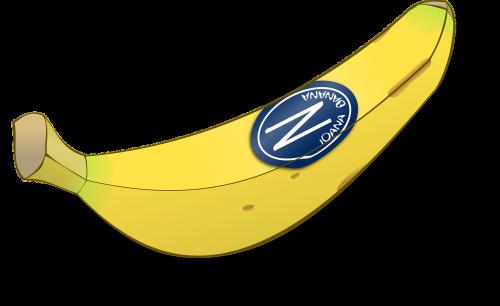 banana fruit yellow