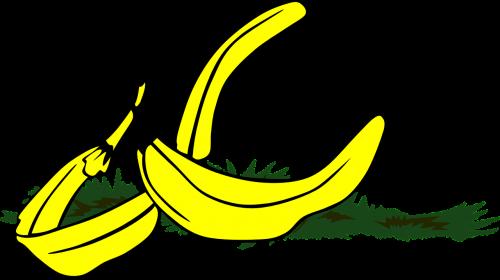 banana peel slippery