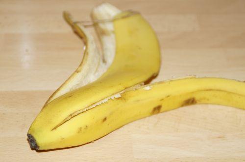 banana peel banana empty
