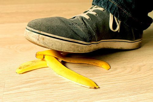 banana peel used shoes hardwood floors
