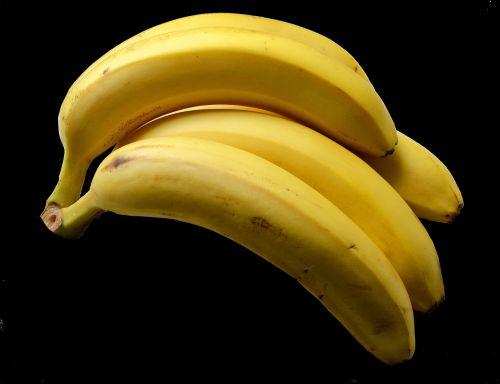 bananas yellow frisch