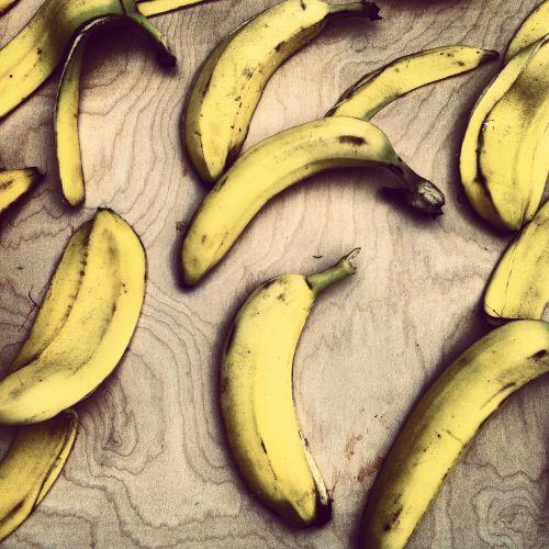 bananas peels food