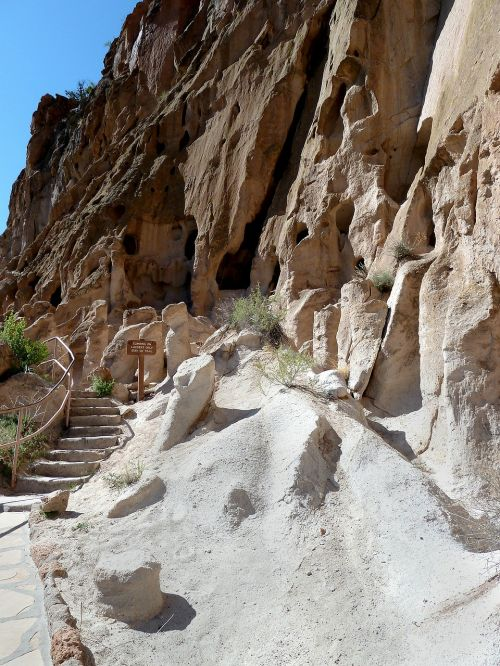 bandelier national monument new mexicoe usa