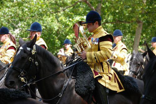 bandsman musician horse