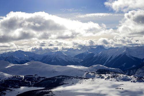 banff sunshinevillage mountains