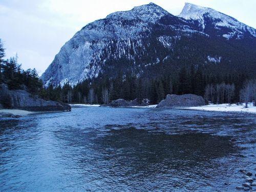 banff canada landscape