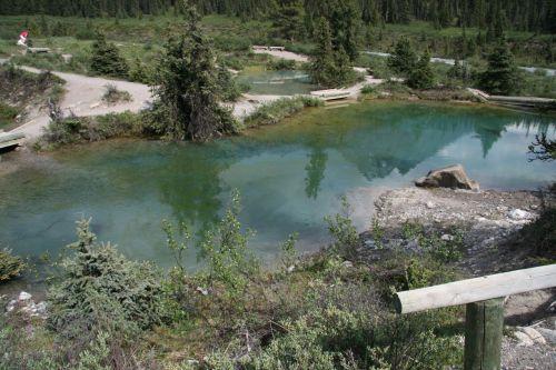 Banff Ink Pots Pond