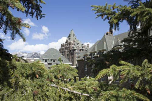 Banff Springs Hotel Rocky Mountains