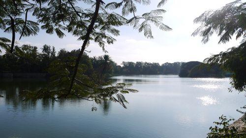 bangalore lake winter