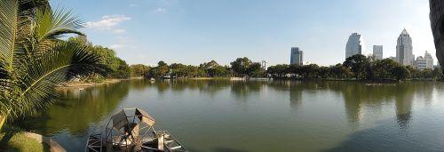 Bangkokas,Tailandas,panorama,miestas,asija,kelionė,architektūra,ežeras