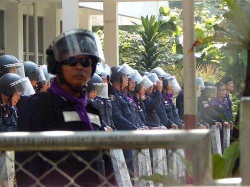 bangkok cops police
