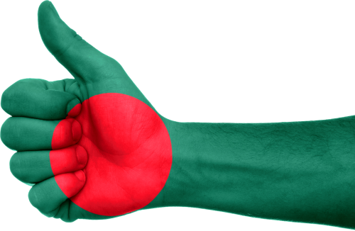Bangladešas,vėliava,ranka,nacionalinis,Šalis,patriotizmas,patriotinis,simbolis,Nykščiai aukštyn