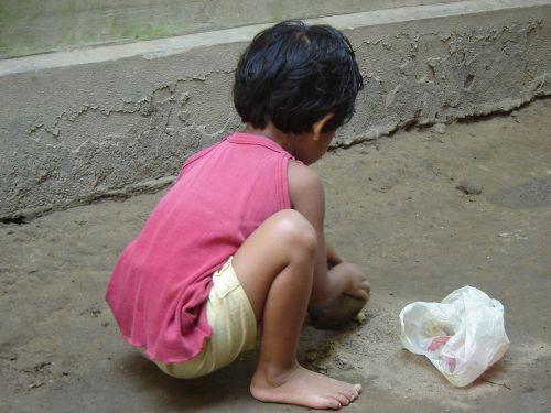 bangladeshi village child