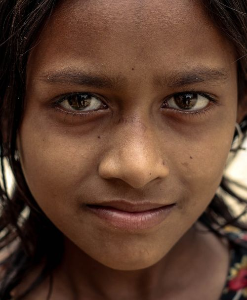 bangladeshi rural area girl who lives in crisis but she have a wonderful dream