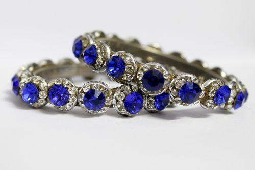 bangles blue bangles antique